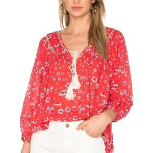 FREE PEOPLE NEVER A DULL MOMENT DAISY PRINT